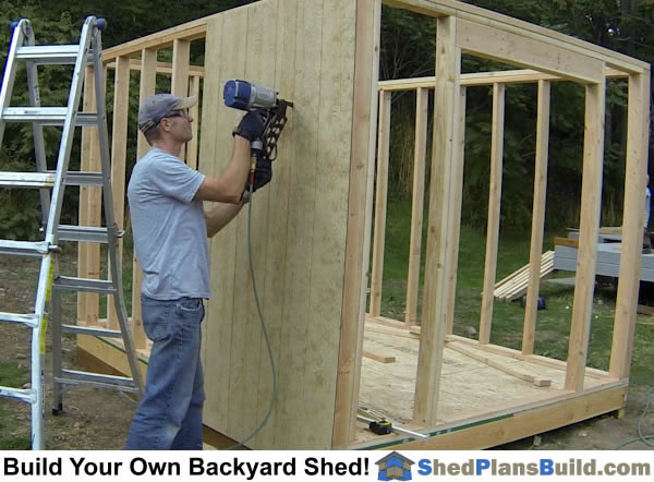 How To Build A Backyard Storage Shed Over 150 Pictures