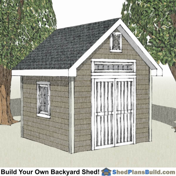 10x12 tv traditional victorian garden shed plans