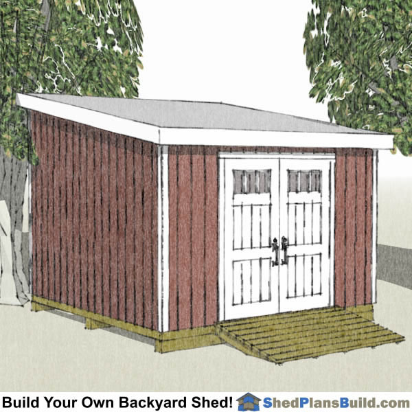 Shed plans by sizes for 12x12 overhead garage door