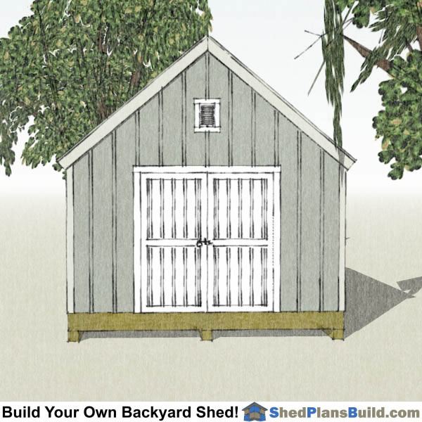 12x16 cape cod garden shed plans for Cape cod shed plans