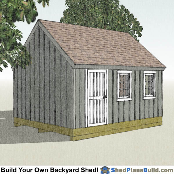 12x16 Shed Blue Prints Bing Images