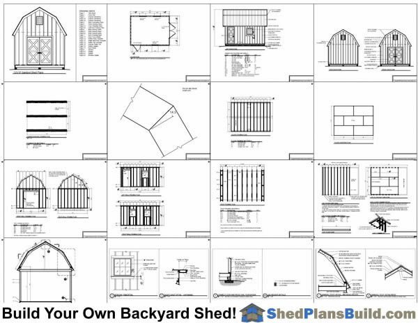 how to build a shed material list