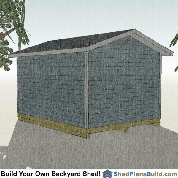 Storage Building Plans Garage