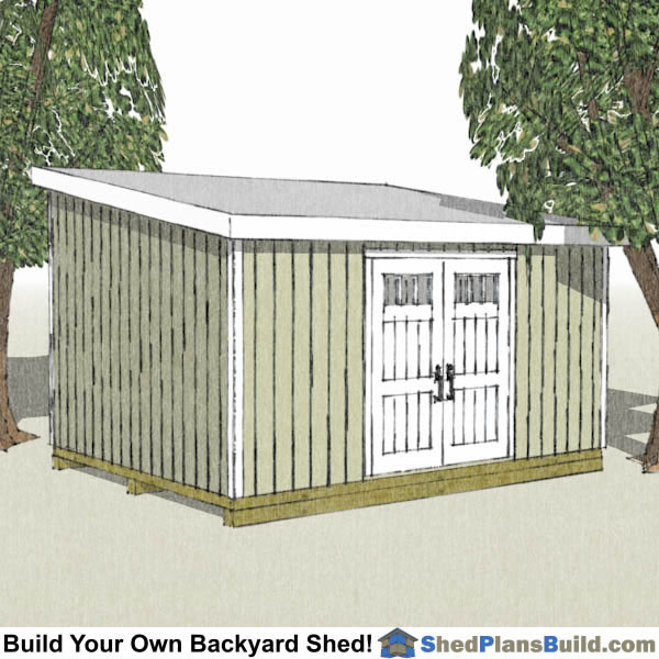 12x20 lean to shed plans - Garden Sheds With Lean To