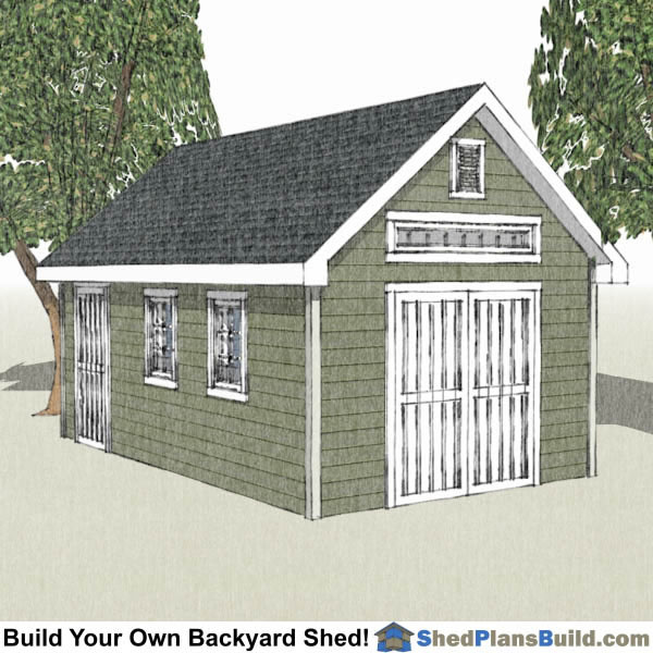 Shed plans for Victorian garden shed designs