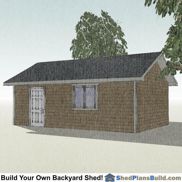 16x24 Garage Storage Shed Plans Right. 16x24 Garage Door Storage Shed Plans