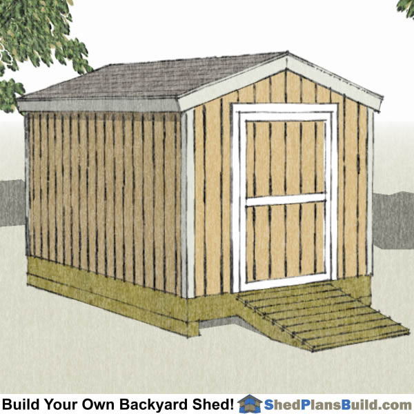 8x12 Backyard Shed 8x12 Backyard Shed Plans
