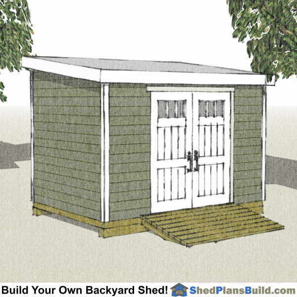 Garden shed plans 8x12 garden ftempo for Outdoor storage shed plans