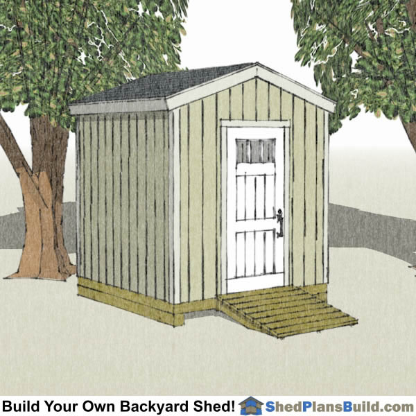 8x12 backyard shed plans store bought door
