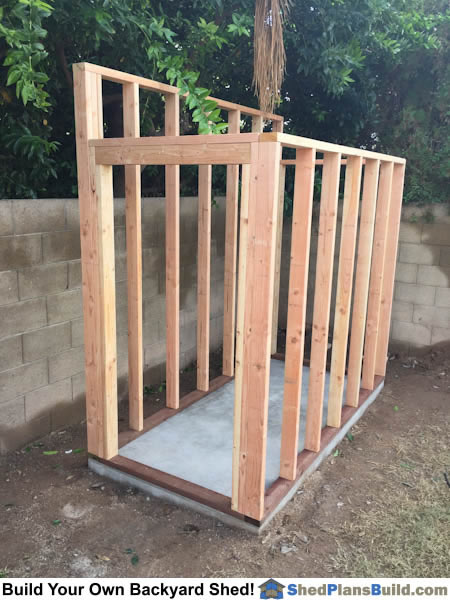 Lean To Shed Plans Photo Gallery
