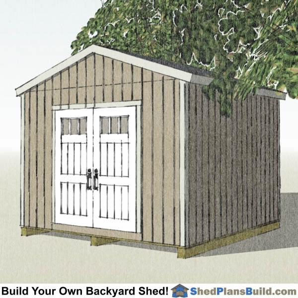 12x12 Backyard Shed Plans Build Your Own Backyard Shed